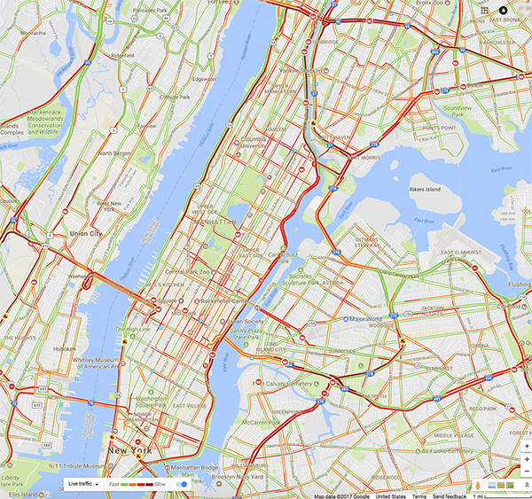 Nyc Live Traffic Map.L6 3a